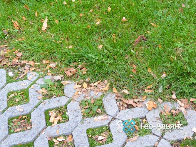 Бетонные газонные решетки