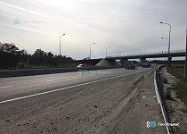 Армирование мостовых конусов объемной георешеткой